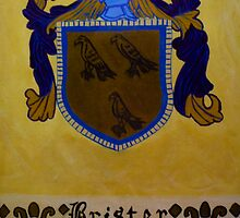 Brister - Coat of Arms by Karen L Ramsey