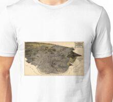 Vintage Pictorial Map of San Francisco (1915) Unisex T-Shirt