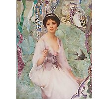 Violet Photographic Print