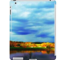 Ohio River Serenity ~ Morning Coffee On The Deck iPad Case/Skin