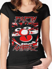 Party Animal(Muppets) Women's Fitted Scoop T-Shirt