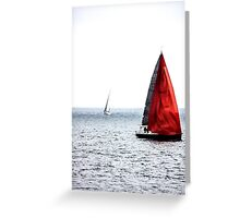 Dream of Red Greeting Card
