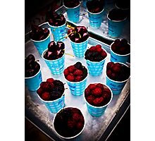 Berry, Berry Delicious! Photographic Print