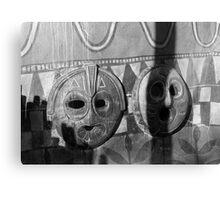 Wall Masks Canvas Print