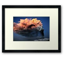 Shining in the dawn. Framed Print