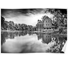 Watermill in Jelka Poster