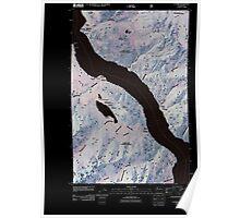 USGS Topo Map Washington State WA Lucerne 20110427 TM Inverted Poster