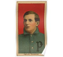 Benjamin K Edwards Collection Jimmy Phelan Providence Team baseball card portrait Poster