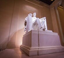 Lincoln Memorial Statue by John Attebury