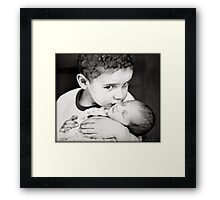There's nothing I'd rather do. Framed Print