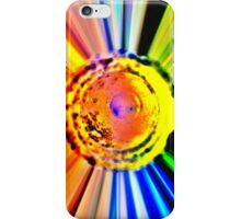 215 Patient ~ Rainbow Explosion Out of a Water Bong iPhone Case/Skin