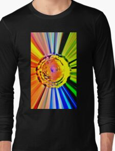 215 Patient ~ Rainbow Explosion Out of a Water Bong Long Sleeve T-Shirt