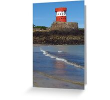 Archirondel Tower, Jersey Greeting Card