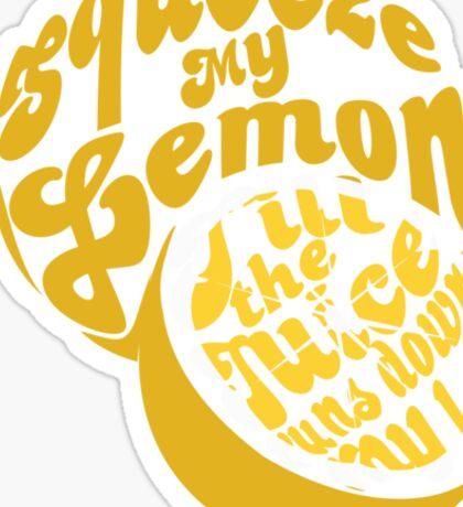 The Lemon Tee Sticker