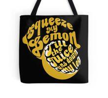 The Lemon Tee Tote Bag