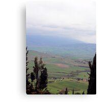 Tuscan Hills Canvas Print