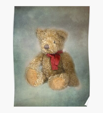 Amber's Teddy Poster