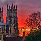York Minster Sunset - HDR by Colin J Williams Photography