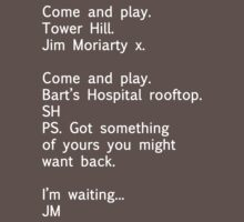 Reichenbach Text 1 by katemonsoon