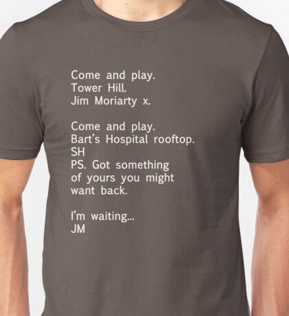 Reichenbach Text 1 Unisex T-Shirt