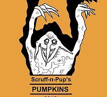 Scruff-n-Pup's Pumpkin Stand - 2015 by mybadtvhabit