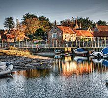 Blakeney Quay, North Norfolk coast by mikemUK