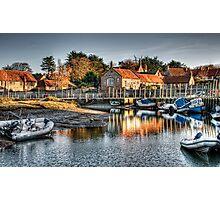 Blakeney Quay, North Norfolk coast Photographic Print