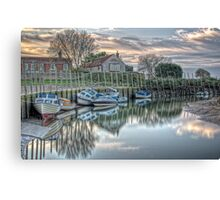 Blakeney Quay, North Norfolk coast Canvas Print