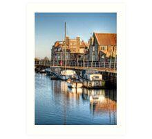 Blakeney Quay, North Norfolk coast Art Print