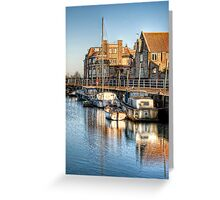 Blakeney Quay, North Norfolk coast Greeting Card