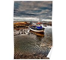 Brancaster Staithe, North Norfolk coast Poster