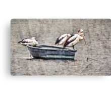 The Fishermen Three Canvas Print