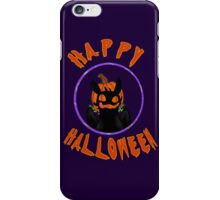 toothless wishes a happy halloween iPhone Case/Skin
