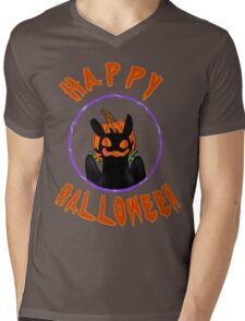 toothless wishes a happy halloween Mens V-Neck T-Shirt
