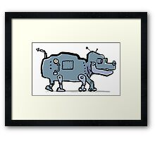 robot dog Framed Print