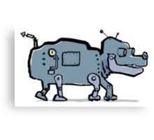 robot dog Canvas Print