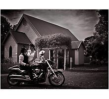 Chris & Julie Photographic Print
