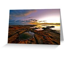 Red Rock. Greeting Card