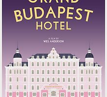 The Grand Budapest Hotel film poster by PolarDesigns