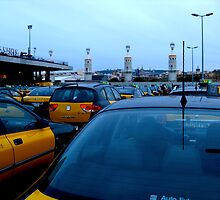 Taxis of Barcelona by Honeyboy Martin