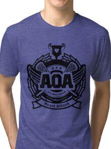 AOA Black Tri-blend T-Shirt