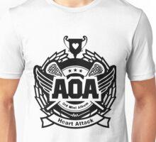 AOA Black Unisex T-Shirt