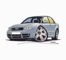 Audi S4 (B5) Silver One Piece - Long Sleeve