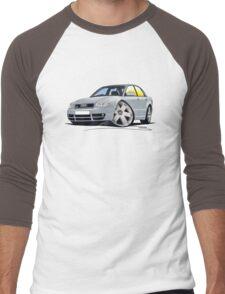Audi S4 (B5) Silver Men's Baseball ¾ T-Shirt
