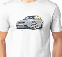 Audi S4 (B5) Silver Unisex T-Shirt