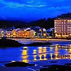 fishing village at night (Viveiro, Spain) by james633
