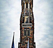 Belfort Tower Bruges by andrewlloyd