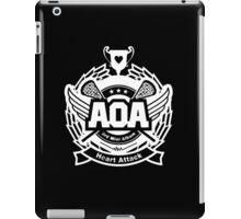 AOA White iPad Case/Skin