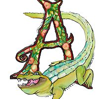 A is For Alligator by Jewel  Charsley