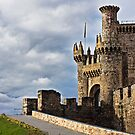 Medieval Templar Castle of year 1178 in Ponferrada, Spain by james633